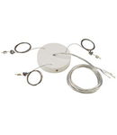 Accesoriu piesa suspendare lampa MEDO PRO 60,alb