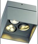 AIXLIGHT SURFACE LED,,3x3x1W LED,lumina rece