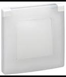 Capac protectie IP44-IK07, 1 post, alb, LEGRAND NILOE