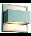 Aplica DACU UP-DOWN LED BEAM,2x1 W,lumina rece,gri