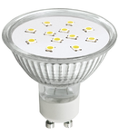 Bec cu Led-uri, ALED MR16 Glass 3W GU10 2700K, LUMINECO