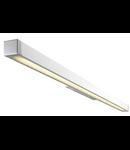 Aplica Q-LINE WALL,aluminiu/antracit