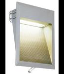 Spot DOWNUNDER LED 27, alb,lumina calda