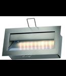 Spot DOWNUNDER RCL 101,inox,lumina calda