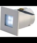 Spot MINI FRAME LED,gri,lumina rece