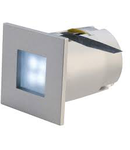 Spot MINI FRAME LED,gri,lumina albastra