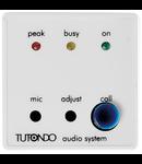 Modul incastrat microfon activ, alb, TUTONDO