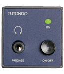 Modul incastrat pentru casti stereo, alb,  TUTONDO