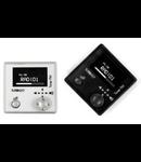 "Modulul FM tuner stereo, programul ""locale"", crom metal (argintiu), TUTONDO"