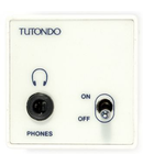 Modul pentru casti stereo, alb, TUTONDO
