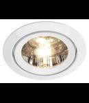 Spot LUZO II,G5.3,50W,crom mat