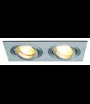 Spot  NEW TRIA II,G 5.3,aluminiu periat
