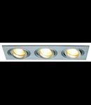 Spot  NEW TRIA III,G 5.3,aluminiu periat