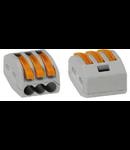 Clema rapida conexiune 3x0.08-4mmp