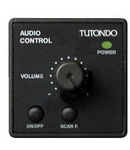 Unitate de control audio pentru 1 sursa de sunet, de control al functiei  volumului, on / off, alba, TUTONDO