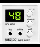 Modul Microfon selectiv incastrat, crom metal (argintiu), TUTONDO