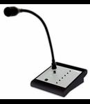 Consola activa cu microfon, 5 zone, alba, TUTONDO