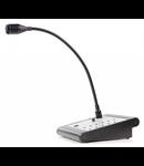 Consola activa cu microfon, selector 10 zone, alb, TUTONDO