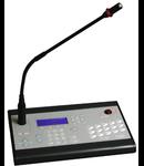 Consola microfon activ cu control digital, afisaj,  pentru matrice, TUTONDO