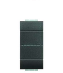 Intrerupator axial, cap-scara, 16A living light, 1 modul, antracit , BTICINO