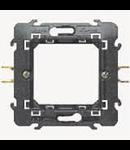 Placa suport 2 module , fixare cu gheare, living light,  Bticino