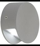 PEMA LED,3.3W,gri,lumina calda