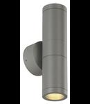 ASTINA OUT ESL,GU10,2x11W,aluminiu lucios