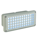 BRICK MESH LED,8.5W,gri,lumina rece