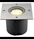 WETSY POWER LED, 3W,patrat,lumina calda
