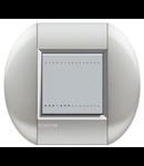 Placa ornament ,2 module, tech, living light, BTICINO