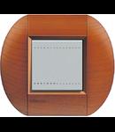 Placa ornament ,2 module, cires american, living light, BTICINO