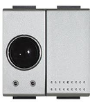 Receptor in infrarosu, 1 Canal+Releu Iesire incorporat, tech, BTICINO