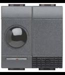 Receptor in infrarosu, 1 Canal+Releu Iesire incorporat, antracit, BTICINO