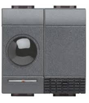 Receptor in infrarosu, 2 Canale+Relee interblocate, antracit, BTICINO