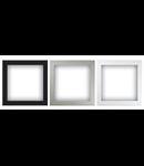Cadru Flush-montat pentru difuzor, negru, TUTONDO