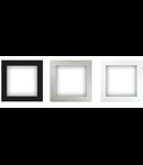 Rama de perete pentru difuzor, alb, TUTONDO