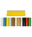 Pereche de laturi pentru difuzor,  papiro, ABS crom, TUTONDO