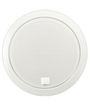 Difuzor rotund acustic, carcasa metal rotunda incastrata in tavan,2-cai SPKR  100V , 10-5-2,5 W ?i de 80 ohm, alb , TUTONDO