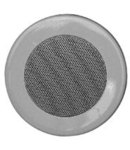 Difuzor rotund in perete, 1-mod cu 100V transformator, 6-3W, alb, TUTONDO