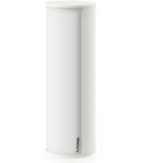 Difuzor compact, de forma cilindrica, instalare pe perete sau raft, 100V transformator prize 46-24-12W, SPL ,max 102 dB, 85 dB 1W/1m, alb, TUTONDO