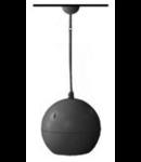 Difuzor acustic sferic agatat, 100 V transf., 20-10-5 W, pentru instalatii suspendate, alb, TUTONDO