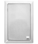 Difuzor dreptunghiular, in perete, caseta CF2 box, 2-way 50W, 8 ohm, alb , TUTONDO