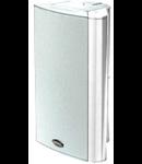 Difuzor aer liber,2-cai, 80 ohm, 100 V transformator, 24-16-6W , alb, TUTONDO