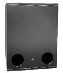 Subwoofer 8 ohm,700W, S.P.L. 1W/1m 98dB, S.P.L. max 125dB, F.r. 40Hz - 200Hz., TUTONDO