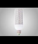 Bec cu LED-uri 9W alb cald/neutru/rece, E27/E14, ELECTROMAGNETICA