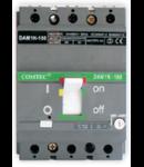Intrerupator automat industrial tripolar, 3P, N160/ 87.5-125A,  35kA