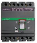 Intrerupator automat industrial tetrapolar, 3P+N, DAM 1N-125, 100A, 35kA