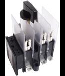 Separator tripolar cu protectie cu maneta rotativa 3P, RAB 00C/ 100A
