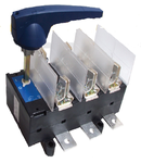 Separator tripolar cu protectie cu maneta rotativa 3P, RAB 3/ 630A