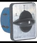 Comutator cu came pornire stea-triunghi,  1-0-1, 4P/4etaje, LW26, 25A